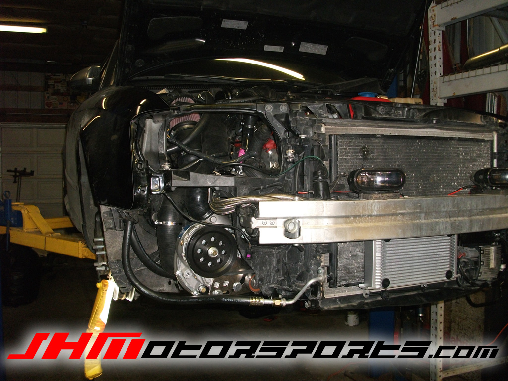 Audi S4 Supercharger by JH Motorsports