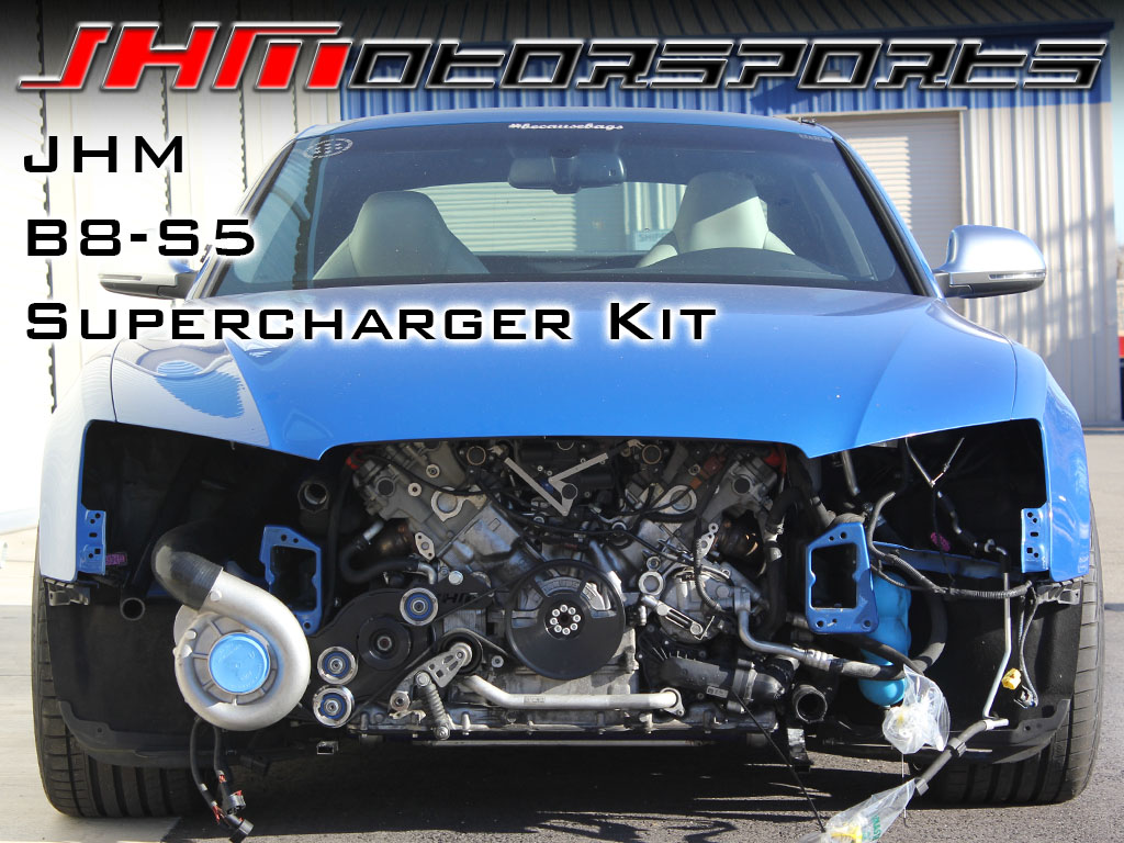Audi S5 Supercharger by JH Motorsports