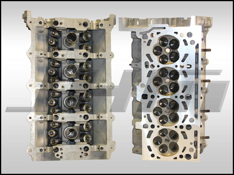 Audi Cylinder Heads Rebuilt Jhm W Hd Valves Hd Springs